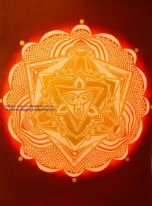 individuell, persönlich, abgestimmt, gechanneltes SEELEN ~ MANDALA ~ Klein-Familien-Mandala