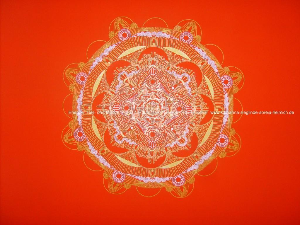 Energie-Mandala der Kraft und Freude