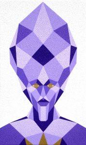 Kristallkopf - Formation von THOTH